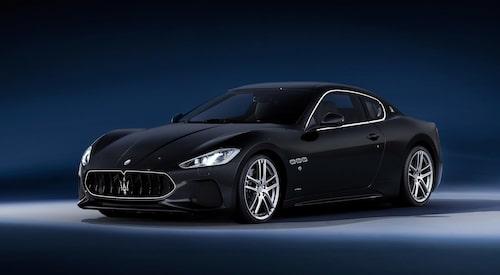 Så här ser Maserati GranTurismo ut i dag. I fjol lades produktionen av modellen ned.