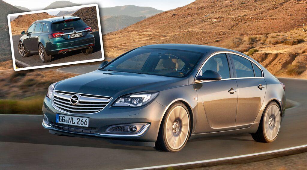 Opel Insignia facelift 2014
