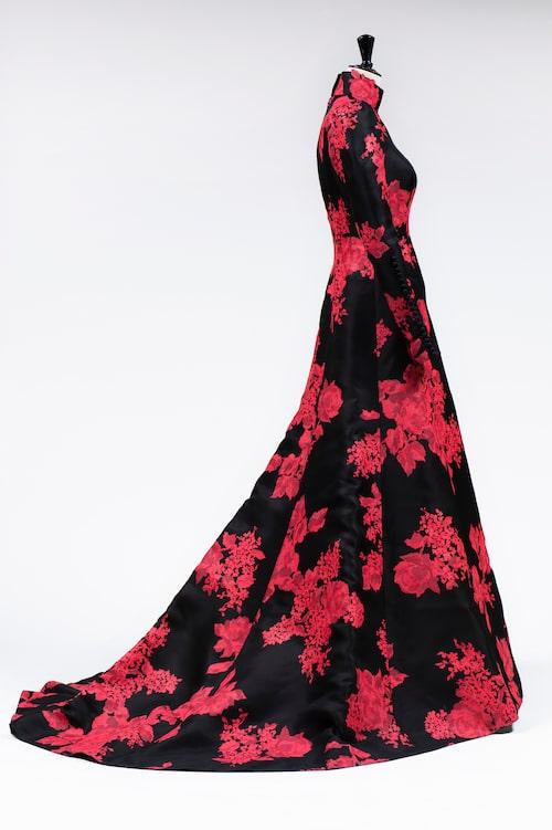 Klänningen från 2015 års Nobelfest är Per Engshedens favorit. Och det var även Sara Danius favoritklänning.