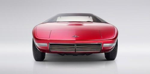 Konceptbilen Opel CD från 1969.
