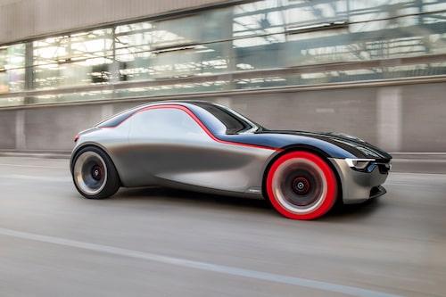 Opel GT Concept från 2016 visar en del av det som kommer i framtiden.