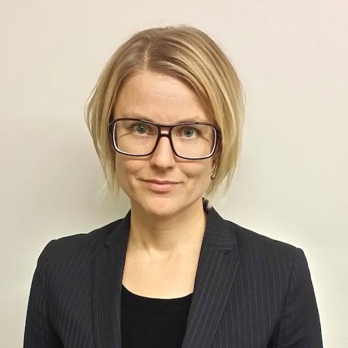 Karin S Lindelöf.