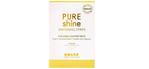 Ekulf Pure Shine Whitening Strips. Klicka på bilden och kom direkt till produkten.