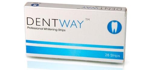 Dentway Professional Whitening Strips. Klicka på bilden och kom direkt till produkten.