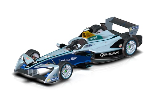 Till kommande säsong får Formel E-bilarna en ny framvinge.