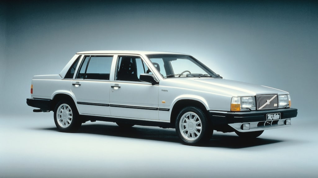 Volvo 740/760. 740 Turbo på bilden.