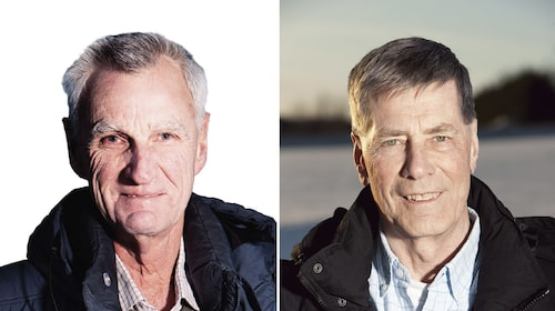 Gustaf Dieden och Hans Wängstre.