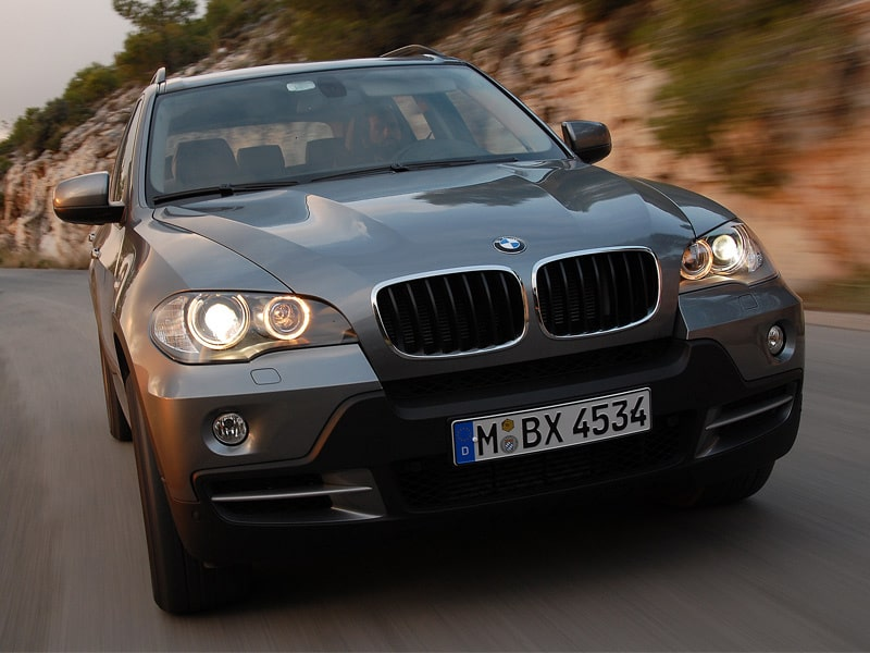 Provkörning av BMW X5 3,0d