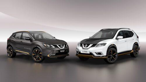 Nissan Qashqai Premium Concept och Nissan X-Trail Premium Concept