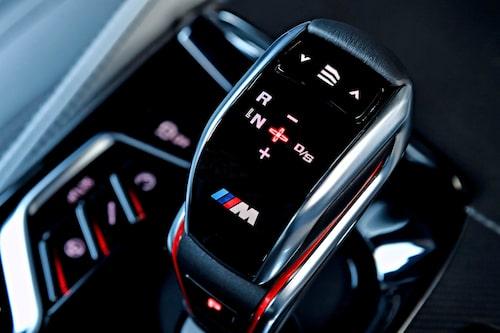 Kanske en av BMWs allra mest avancerade växelspaksknoppar, någonsin.