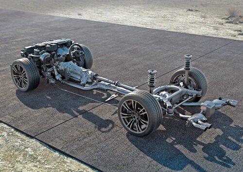 Den nya drivlinan i M5 skiljer sig en del mot vanliga xDrive…