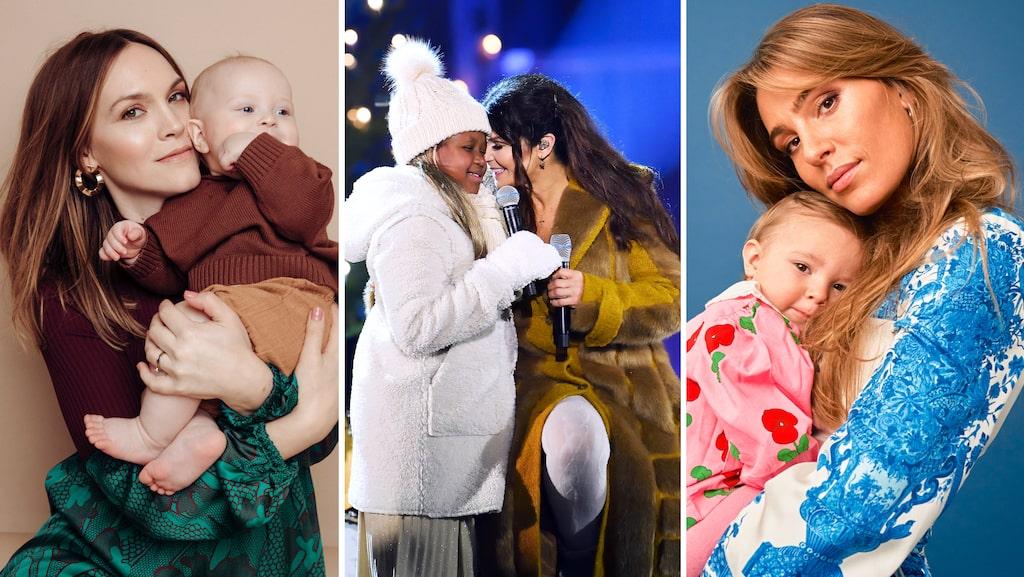 Många kändisbarn har namn som återfinns på topplistorna över populära bebisnamn.