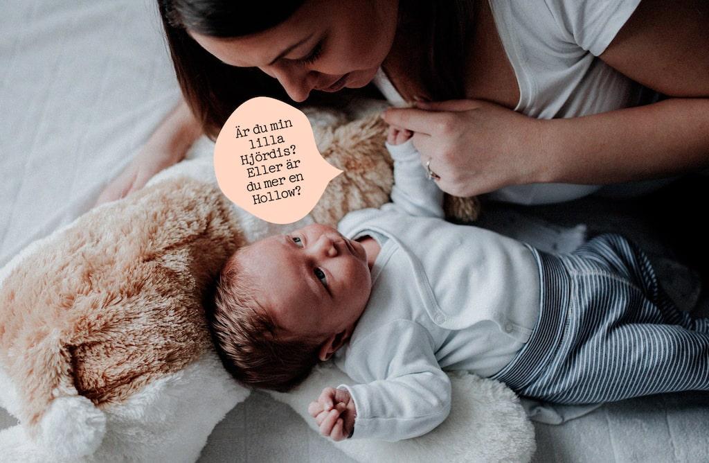 Vill du ge barnet ett unikt eller ovanligt namn?