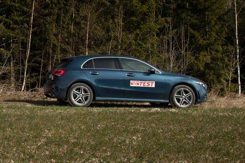 Mercedes 250 e är galant när det gäller räckvidd.