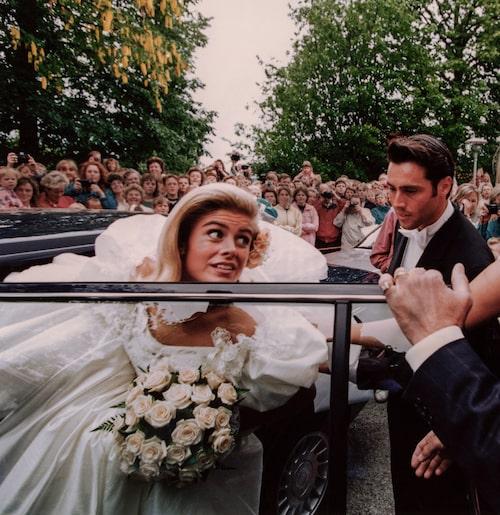 Pernilla Wahlgrens och Emilio Ingrossos bröllop blev en riksangelägenhet.
