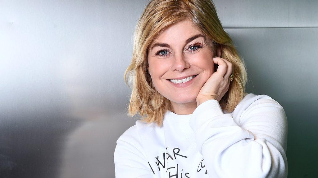 Som 52-åring står Pernilla Wahlgren på toppen av sin karriär.