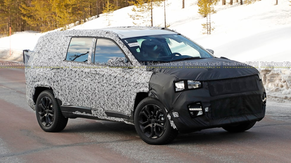Namnet på denna kommande Jeep vet vi inte. Någon har ett bra förslag?