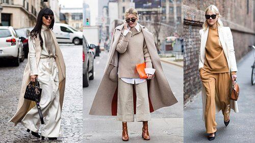 Snygga och bekväma plagg i beige, krämvitt, kamelbrunt och grått - något helt annat än svart!
