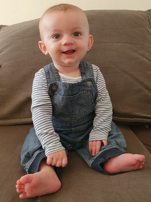 I dag är Frej 6 månader och har nyligen genomgått sin första operation.