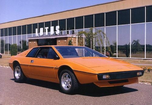 1976-1981- Lotus Esprit S1.