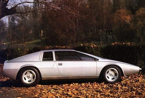 1972. Lotus Esprit Concept Car.