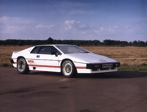 1980-1987. Lotus Esprit Turbo.
