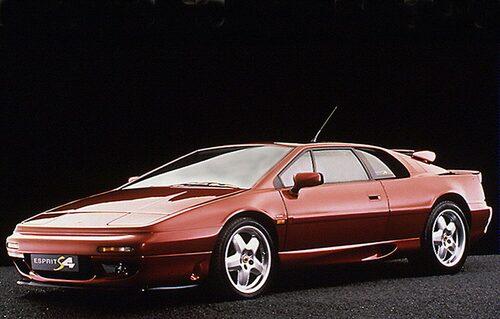 1992-1996. Lotus Esprit S4.