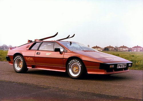 1981. James Bonds Lotus Esprit.
