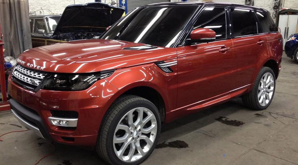 Nya Range Rover Sport