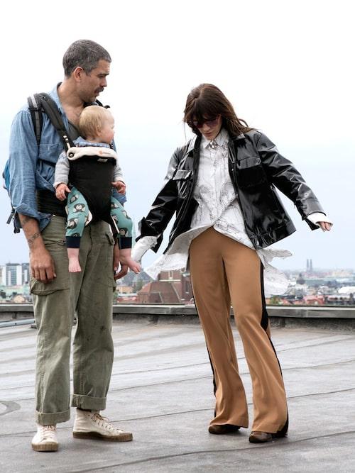 Brita Zackari är även bonusmamma till maken Kalles son Glenn.