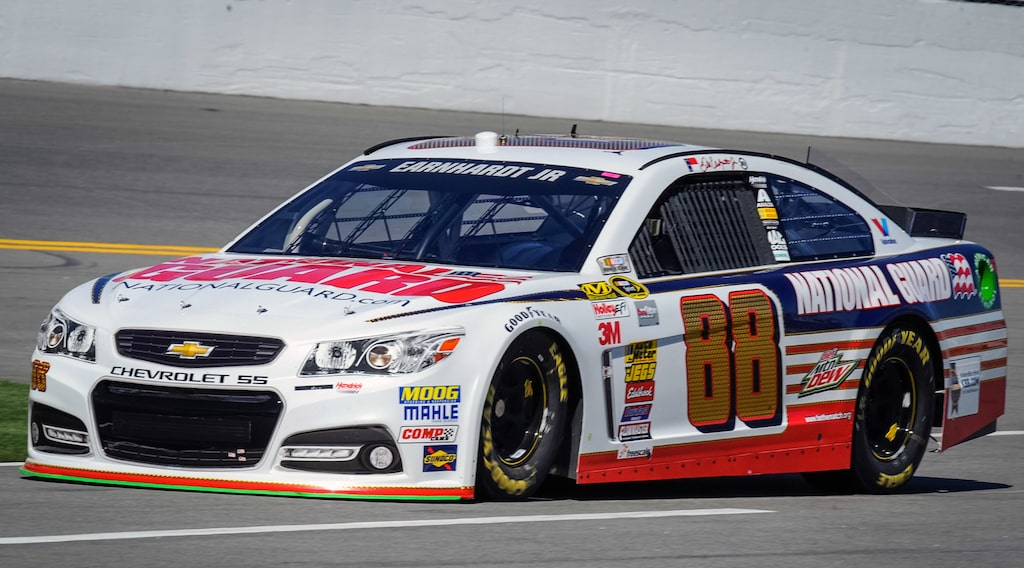 Dale Earnhardt Jr NASCAR Daytona 500 2014