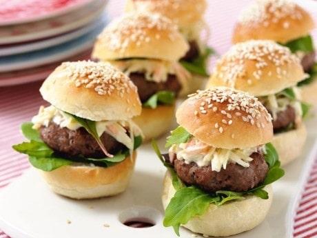 Hamburgare - popburger