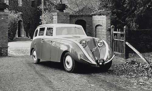 Konceptbilen Venus Bilo från 1933 som föregick Volvo PV36.