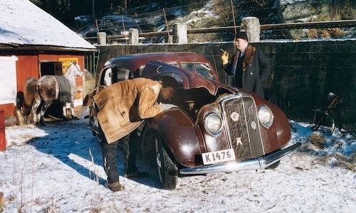 2002 var Teknikens Värld och tittade på just den bil som nu ställs ut på Techno Classica. Då hade den under många år stått i ett uthus till ett sågverk.
