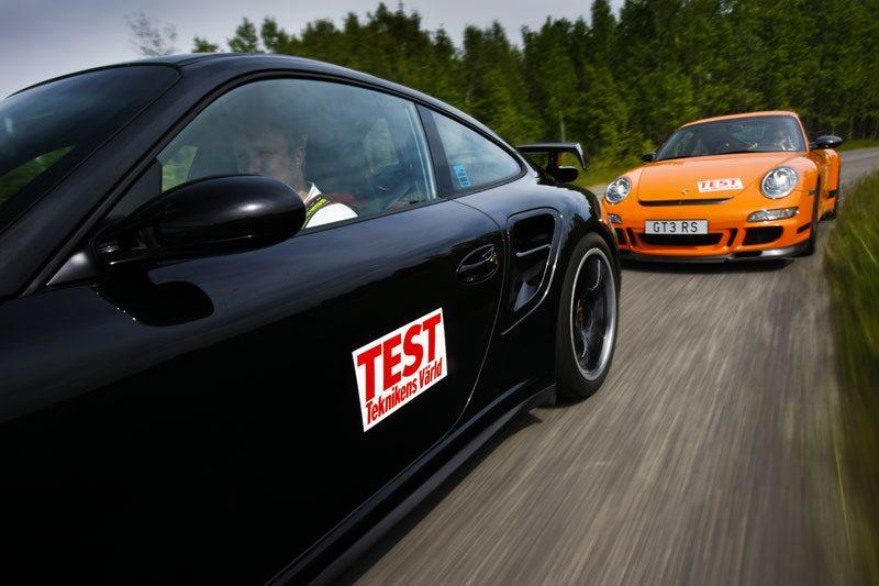 Världens största Porsche-test – 911, Cayman, Boxster och Cayenne i nio olika utföranden.
