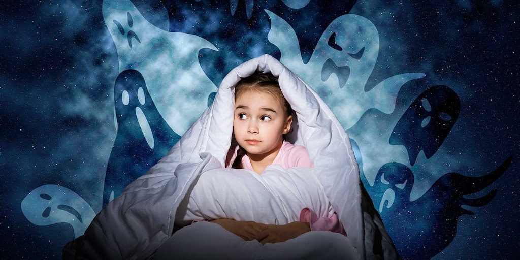 """""""Mamma, jag kan inte sova!"""" Törstig, mardrömmar eller – det bara går inte att somna."""