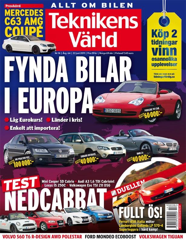 Teknikens Värld nummer 14 / 2011