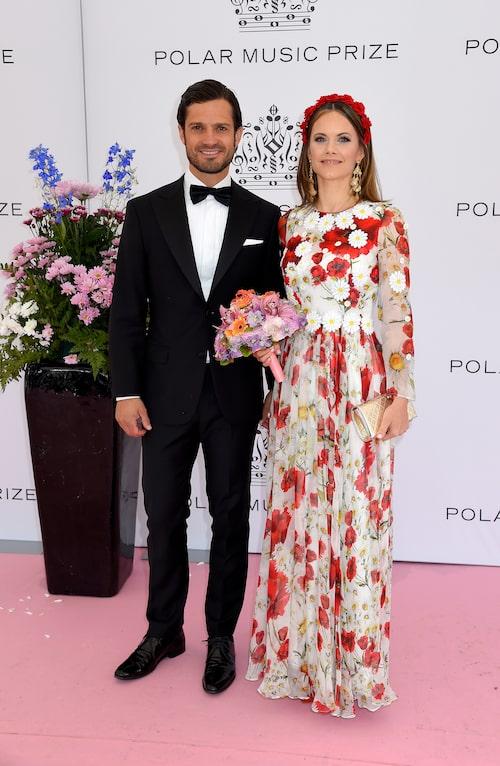 Prins Carl Philip och Prinsessan Sofia på Polarpriset 2019.