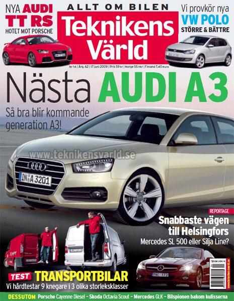 Teknikens Värld nummer 14 / 2009