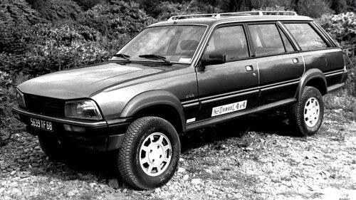 Peugeot 505 Dangel