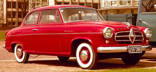 Borgward Isabella, 1955.