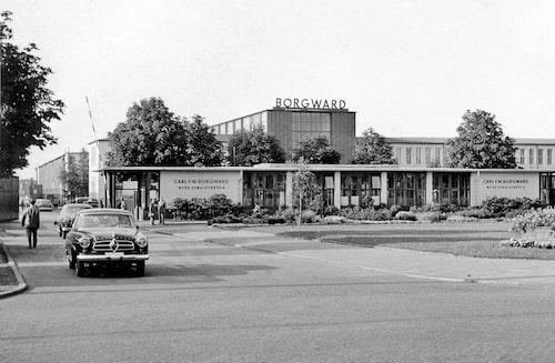 En av fabrikerna i Bremen.