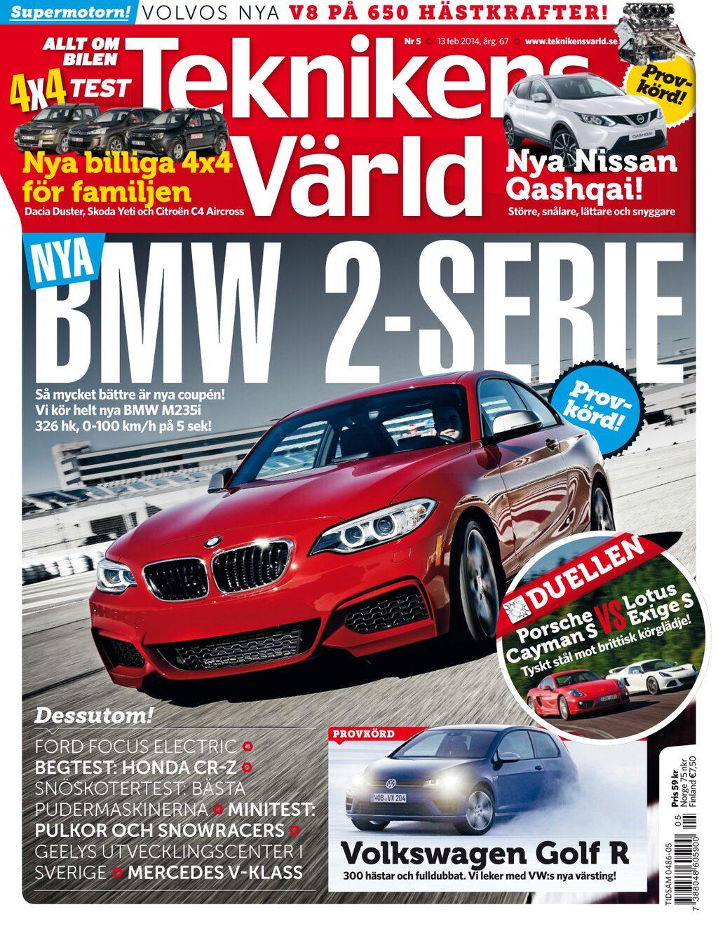 Teknikens Värld nummer 5 / 2014