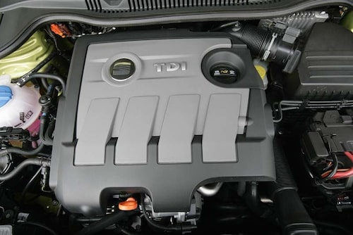 Seat Ibiza har utrustats med en dieselmotor med common railinsprutning.
