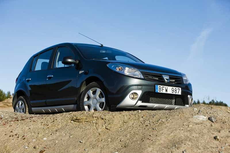 Provkörning av Dacia Sandero