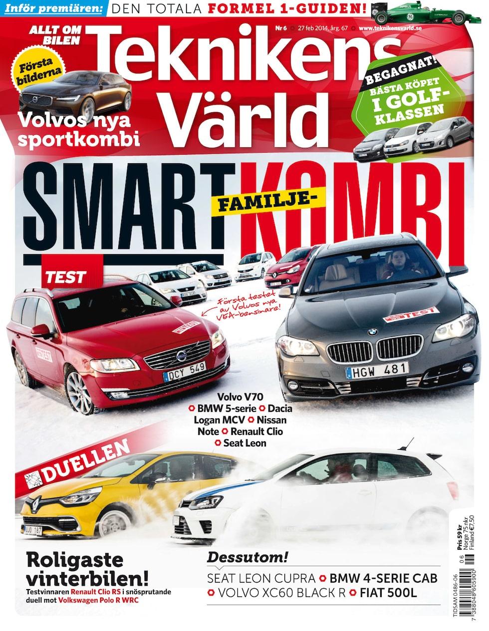 Teknikens Värld nummer 6 / 2014