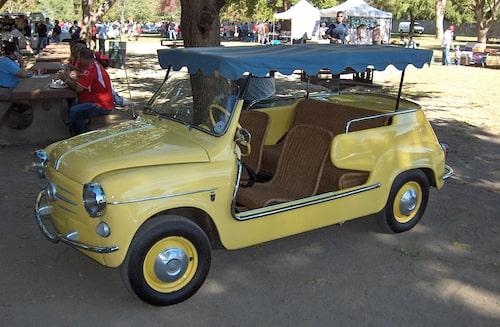 Fiat 600 Jolly 1958.