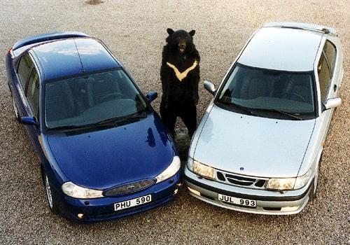 Ford Mondeo ST200 mot Saab 9-3 Aero