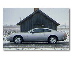 Provkörning av Jaguar XK8 Coupé