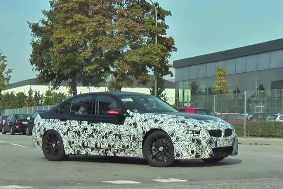 Nya BMW M3 sedan